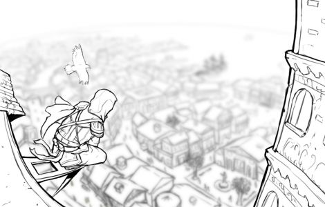 Assassin's Creed Coloring Page | Places to Visit ...