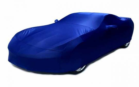 Indoor Stretch Satin Color Matched Car Cover for C7 Corvette  Our C7 Corvette Indoor Stretch Satin Color Matched Car Cover is extremely breathable to avoid moisture and allow the paint to fume naturally. This car cover is VERY similar to other covers that cost over $250.00!