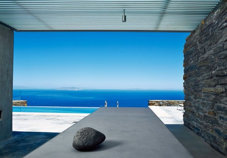 Called Kea 5G (after its island in the Cyclades), this five-bedroom villa is a stunner—and priced accordingly.