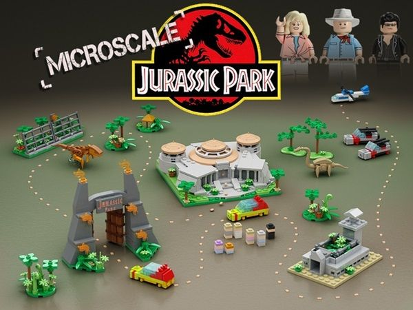 Let's Make A Microscale LEGO Jurassic Park Happen