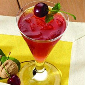 Cherry Lemon Sparkler | Recipe Farm Recipe Farm