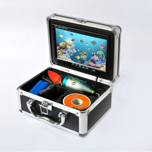Underwater Fishing Camera 7 TFT LCD Monitor 600 TV Lines Video Fish Finder System HD 15M Cable Fishing Tackle