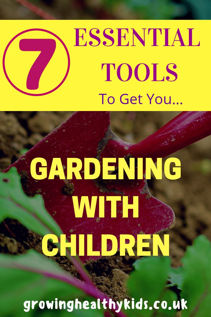 7 Essential Tools To Get You Gardening With Kids. Kids Wheelbarrow,gardening with kids.