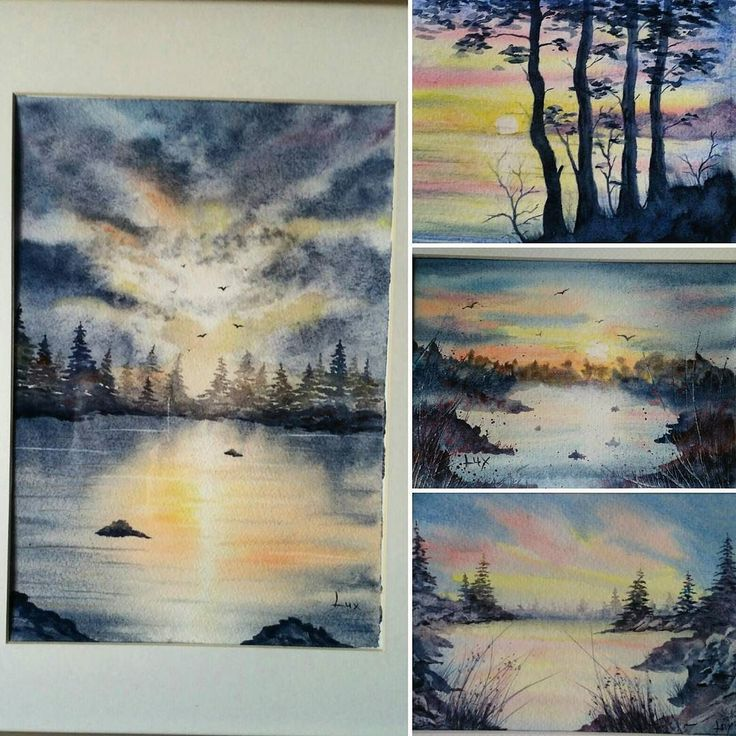 #watercolorpainting #watercolours #watercolor #watercolour #watercolors #artisticcommunity #artistic_share #paint #painting #art #artist #artistic #paintings #seascape #seascapes #sunset #sunsets #sunset_madness #sunsetlovers #inspiring_watercolors #sketch #drawing #water #acquerellarte #arts