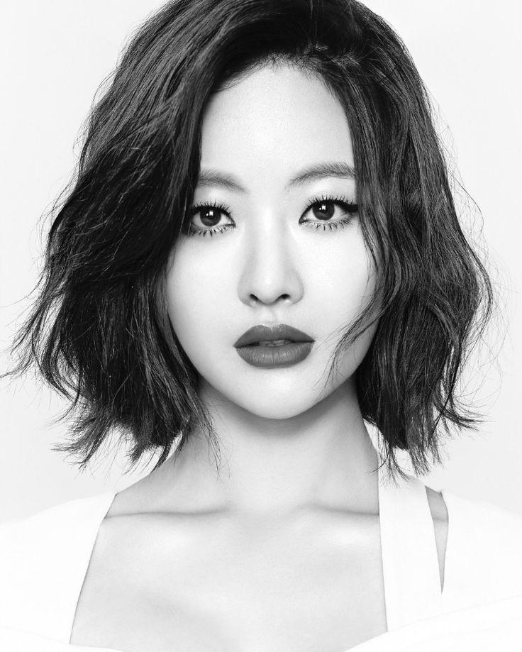 """""""오연서. Oh Yeon Seo"""" hair inspiration for the growing it out phase."""