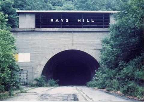 Part of the abandoned PA turnpike -- MUST visit this.