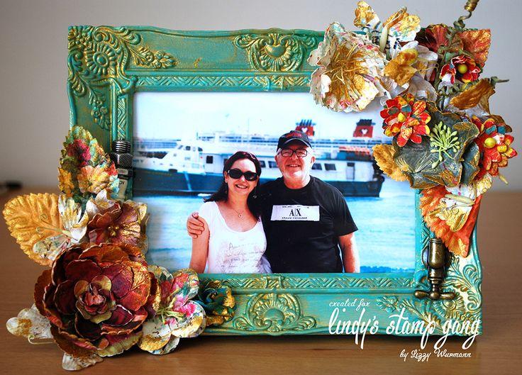 Altered frame - Scrapbook.com