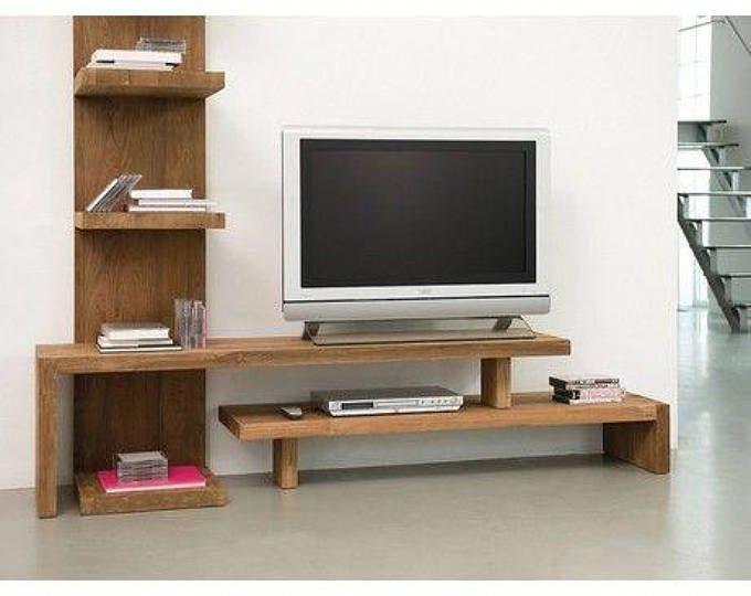 Wall Unitwall Cabinettv Consolemedia Unitmedia Etsy In 2020 Furniture Kids Room Shelves Ikea Storage Shelves