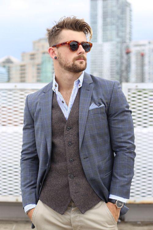 city slicker.shop the look:jacket (similar)vestshirt (similar)pants