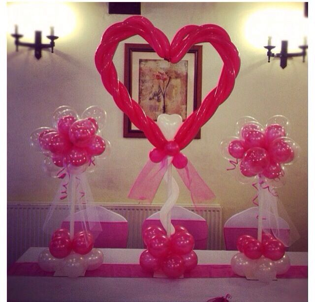 Best 25 valentines balloons ideas on pinterest heart for Balloon decoration for valentines day