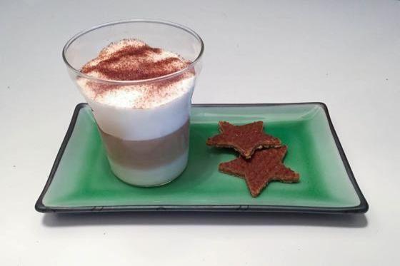 Snelle kerst twist met uitsteekvormpjes, leuk voor bijvoorbeeld koek of fruit