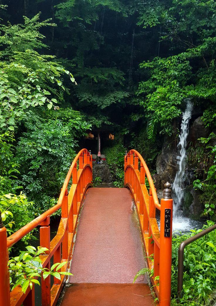 Bridge Reclining Buddha Nanzoin Temple Fukuoka