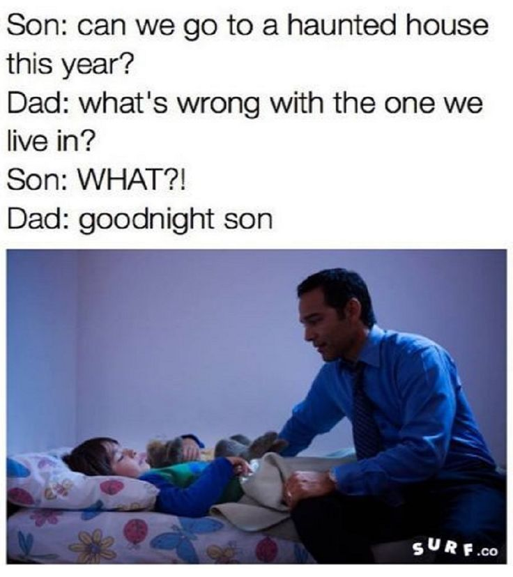 Hilariously savage Dad putting his son to bed ...| #Funny #Pictures #Memes