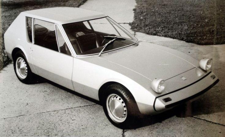 1965 NSU GT CONCEPT - by Autonova for Frankfurt motor show.