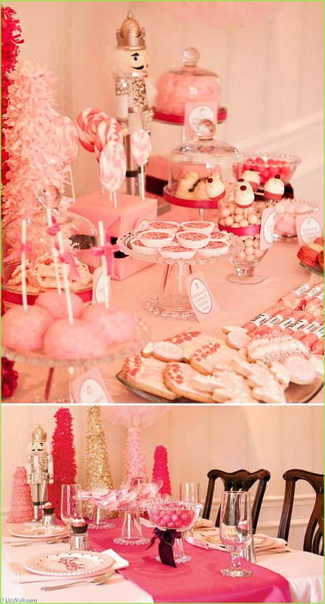 Now this is my kind of Christmas Celebration... Pink and Nutcrackers :) Pinned on behalf of Pink Pad, the women's health mobile app with the built-in community