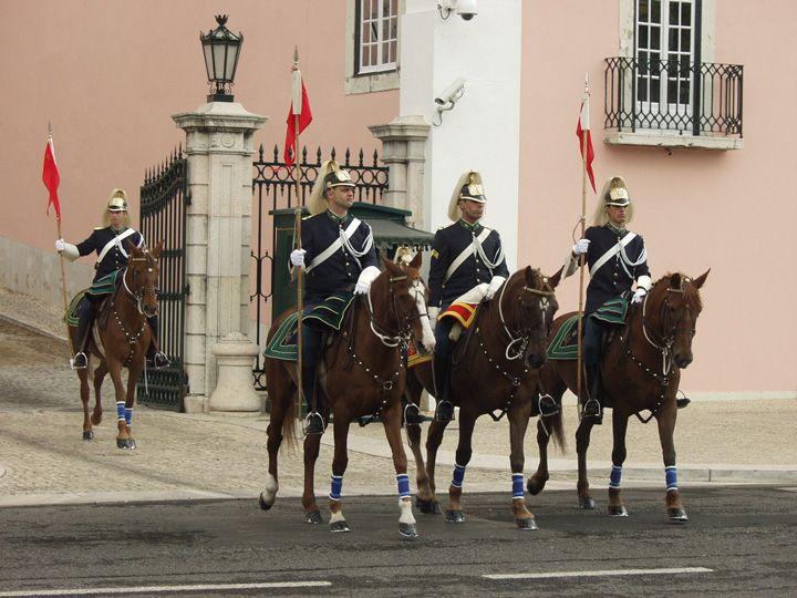 Render da Guarda no Palácio de Belém, Lisboa