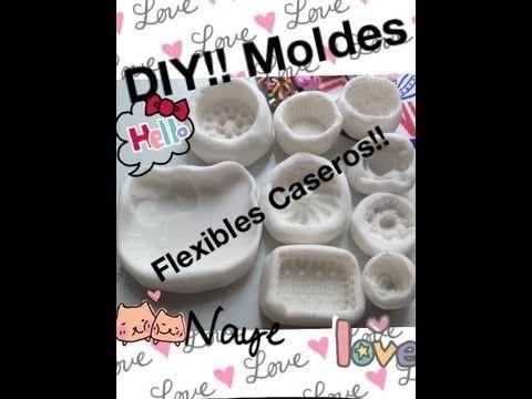 ▶ DIY!! Moldes flexibles caseros!! - YouTube