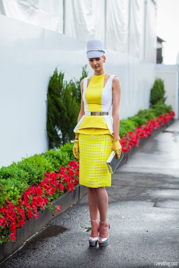 A fascinator can add height which visually slims and elongates your silhouette. www.stylestaples.com.au