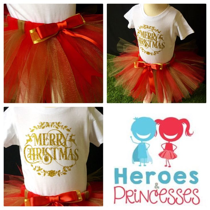 A personal favourite from my Etsy shop https://www.etsy.com/au/listing/478145802/christmas-outfit-tutu-and-matching-t