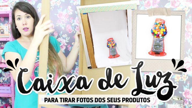 Sabe qual é o segredo para uma boa foto? Iluminação! Neste vídeo mostro como fazer uma caixa de luz para tirar fotos incríveis dos seus produtos!  Para conferir só acessar: http://garotacriatividade.com/caixa-de-luz ◄=