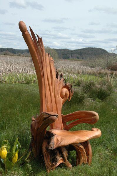 128 best landscape garden images on pinterest drift Driftwood sculptures for garden