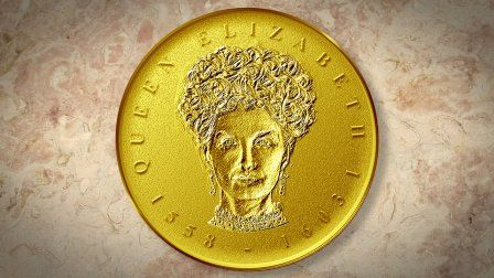 Create a Gold, Medallion Coin Portrait in Photoshop | Graphics