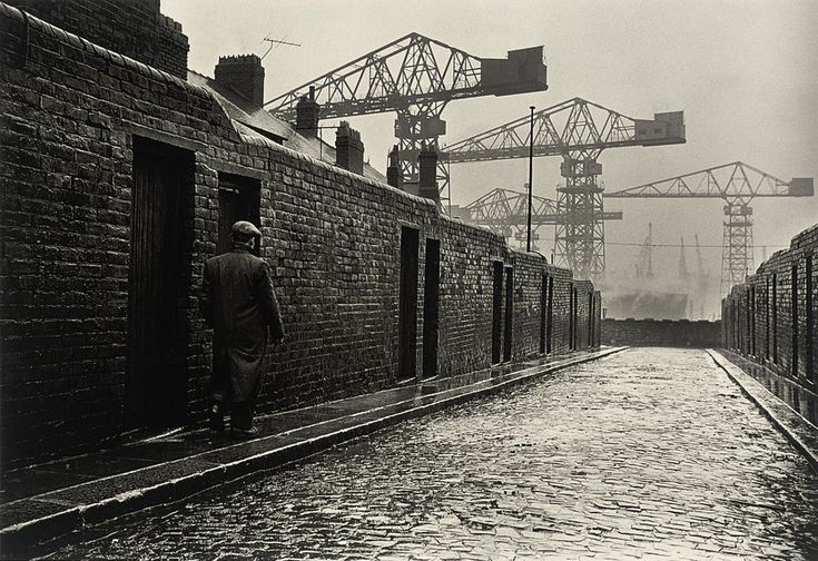 Wallsend, Newcastle  photo by Colin Jones, 1962