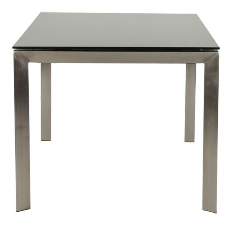 Les 25 meilleures id es concernant table avec rallonge sur pinterest rallon - Table noire avec rallonge ...