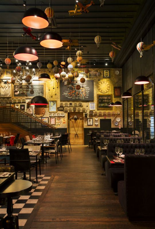 Santa Irreverência Arquitetura: Restaurante La Cabrera, Rio de Janeiro - Arcoweb