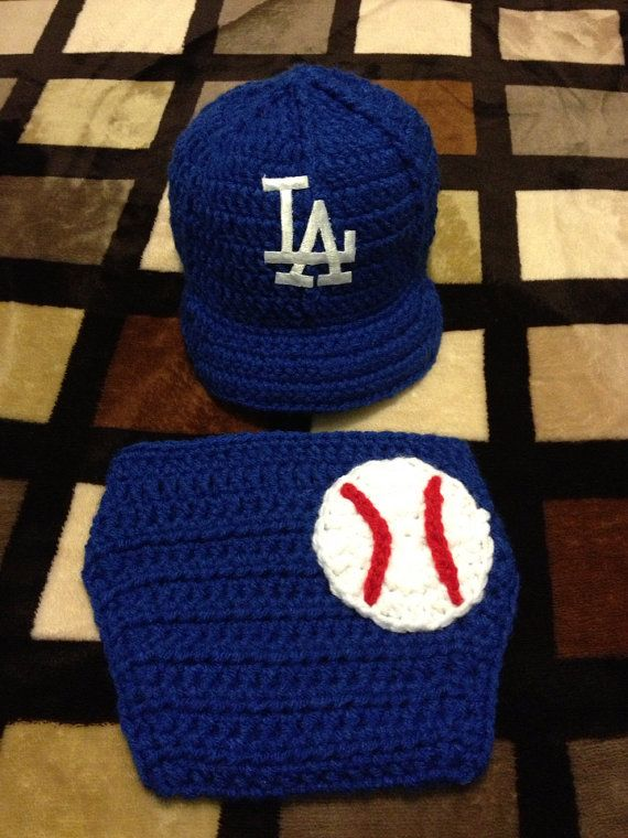 La Dodgers Baby Crochet Outfit By Astitchintime36 On Etsy