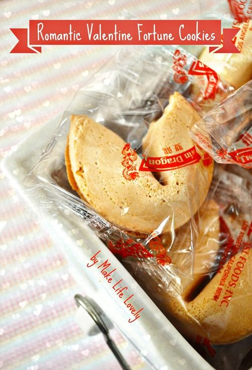 How to Replace Fortune Cookie Messages by Make Life Lovely - genius idea and simple!