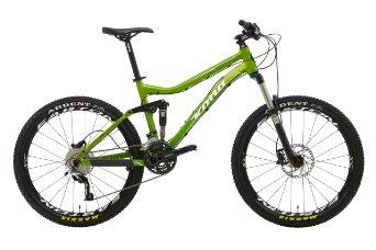 Kona Tanuki DL Full suspension Marathon bike Gentlemen green (2013): Sports & Outdoors