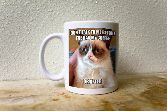 fb6a6d7bc2dbe8e1aec754d57aa51a08 grumpy cat mug cat memes ned stark brace yourself meme coffee mug a caffeine rush is,Meme Coffee Mugs