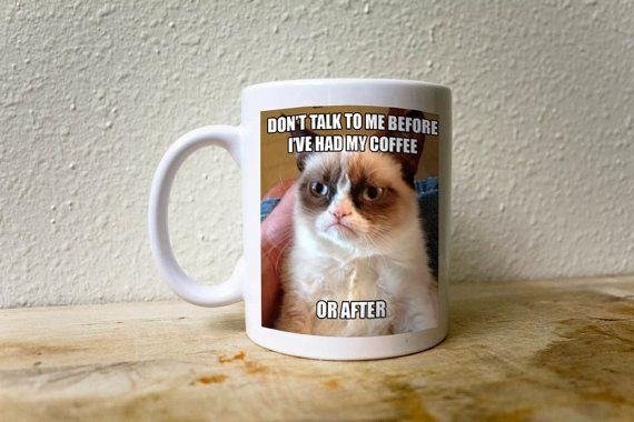 grumpy cat meme mug