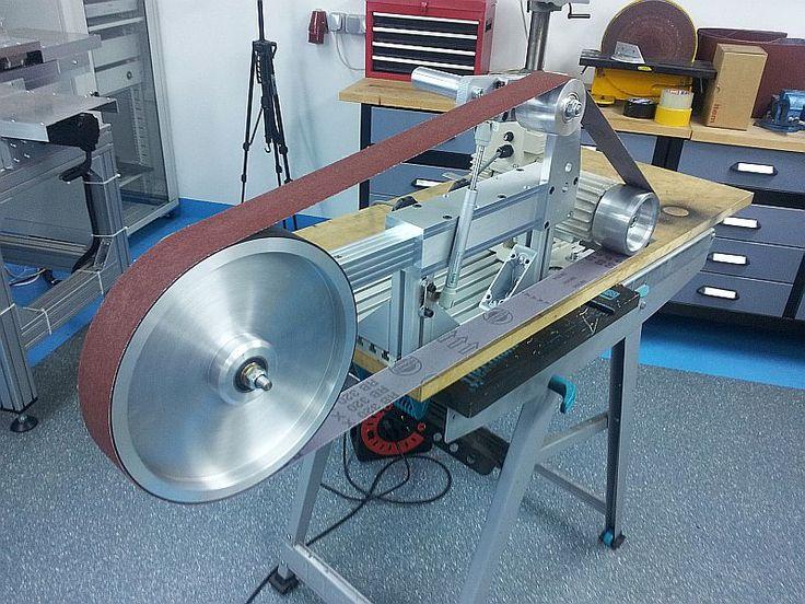 New Machine Costruire Kmg Smerigliatrice A Nastro Clone