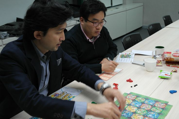 해피타운, 비즈니스 경영 시뮬레이션 보드게임 파일럿 테스팅@2014-01-20