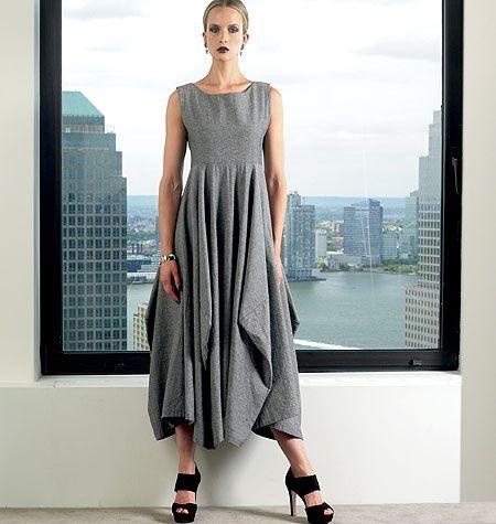 Vogue Lynn Mizono Designer Sewing Pattern 1312 Ladies Dress - Choice of Sizes | eBay