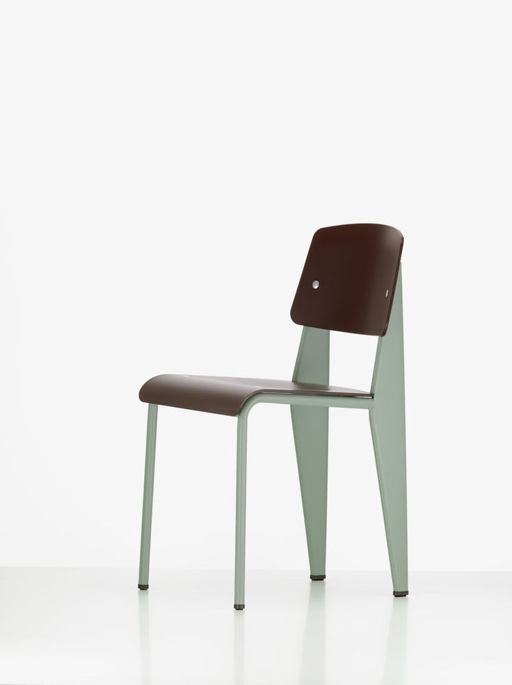 Schön Jean Prouve Standard SP Chair By Vitra With Mint Green Base