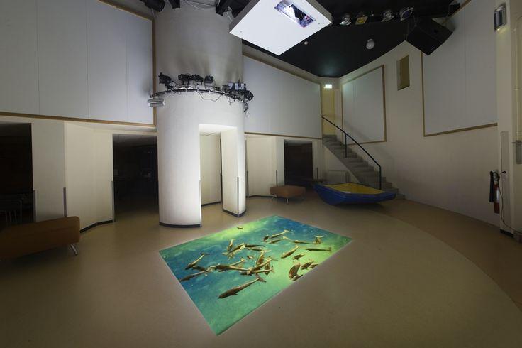 Interactieve snoezelruimte in het Bio Vakantieoord, Arnhem