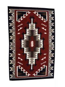 Dalyn Rugs Ganado Navajo Weaving a Contemporary Navajo Rug Weaving by Navajo Weaver Anna White