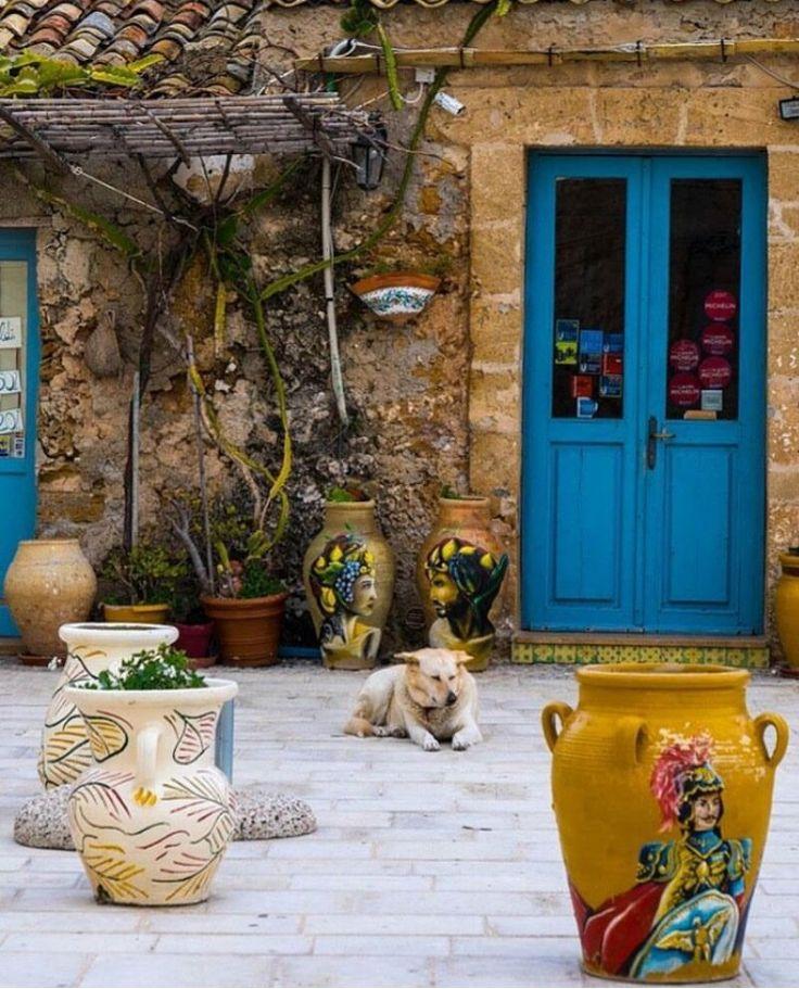 Marzamemi, Sicília, Itália