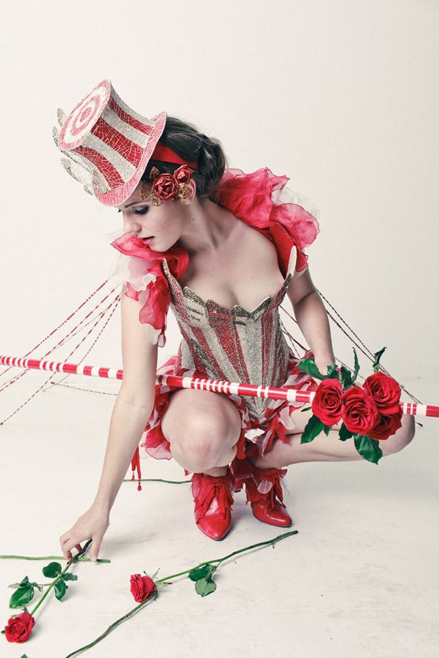 It's like wearing jewelry. An absolutely stunning beaded Ringmaster costume. - 9 Circus Cosplays