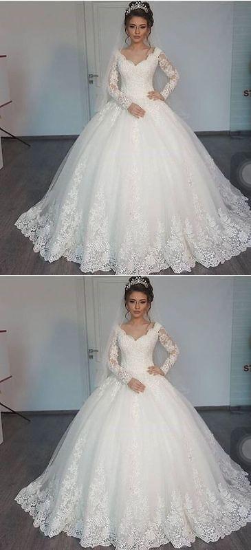Wedding Dresses: New White/Ivory Lace Bridal Gown Wedding Dress Custom Size 4 6 8 10 12 14 16 18 -> BUY IT NOW ONLY: $89 on eBay!