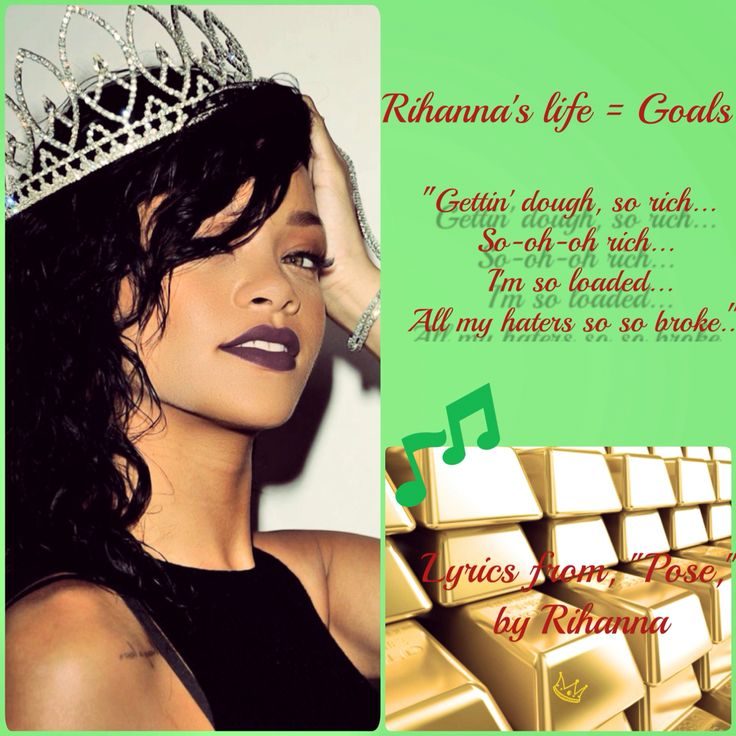 Lyric love rihanna lyrics : 9 best Rihanna images on Pinterest | Rihanna lyrics, Lyrics and ...