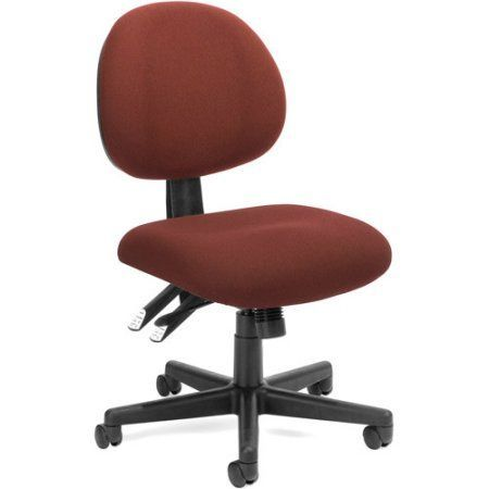 OFM 24 Hour Ergonomic Computer Task Chair, Multiple Colors, Red