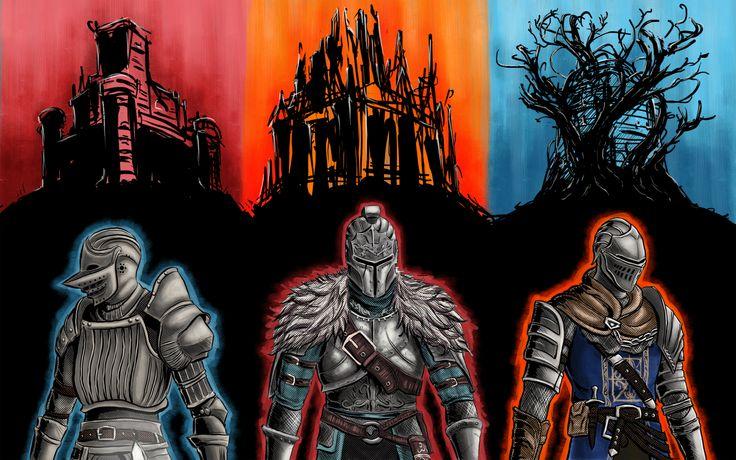 Videojuego Dark Souls  Dark Souls II Dark Souls III Fondo de Pantalla
