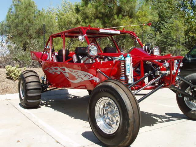 2006 Raw Motorsports SAND STORM Sand Rail , Red, 134 miles for sale in Temecula, CA