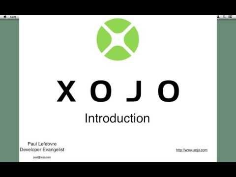 Xojo: Xojo Videos -- Let's learn Xojo together! - http://xojo-dojo.blogspot.com