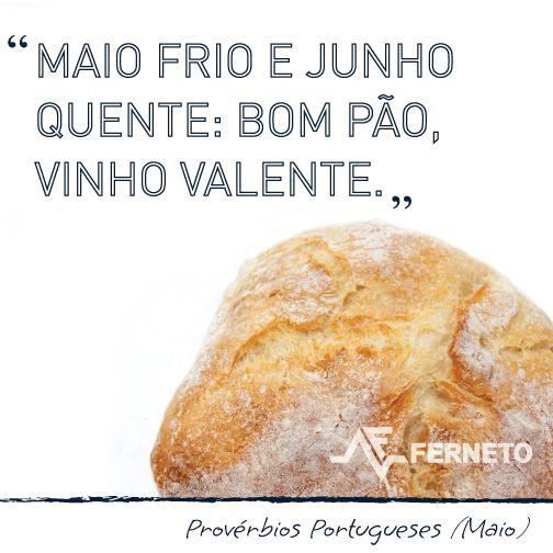 #provérbios #portugal #padaria #pão #maio