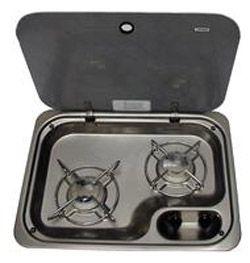 Dometic - 2-pits kooktoestel (9103300436)
